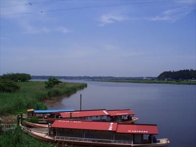 印旛沼 at 千葉県佐倉市